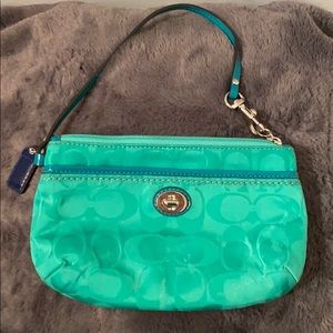 Coach Mini Bag Green